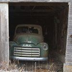 abandoned GMC truck in Kansas